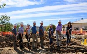 Ground Breaking Riverstone School Boise